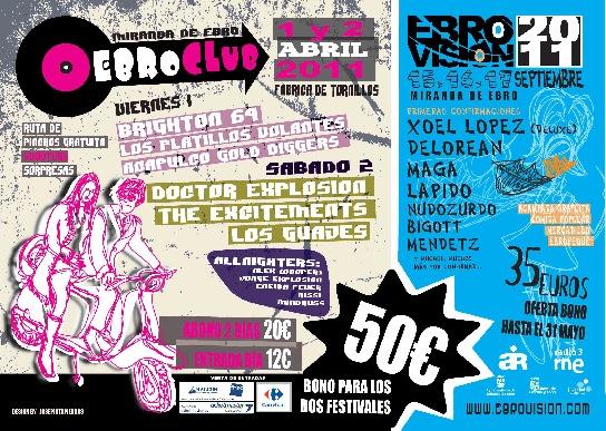 Ebroclub 2011 - Cartel