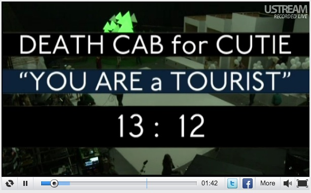 Death Cab for Cutie - You are a tourist videoclip