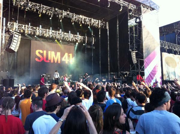 DCode Festival - Sum 41