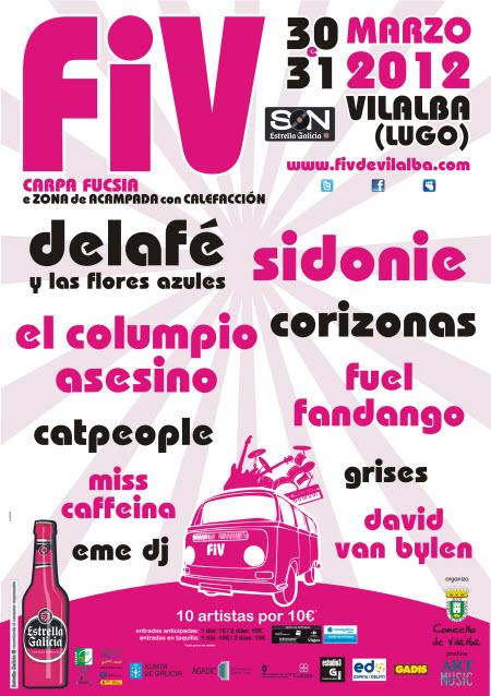 FIV 2012 - Cartel definitivo