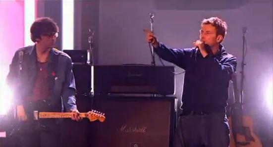 Blur - Brit Awards 2012