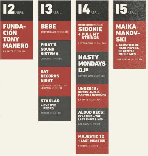 Live Sessions Day 2012