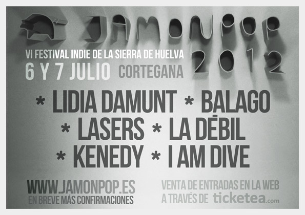 Cartel JamónPop 2012