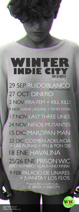 Winter indie city - 2013