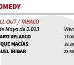 vinarock 2013 horarios Miercoles