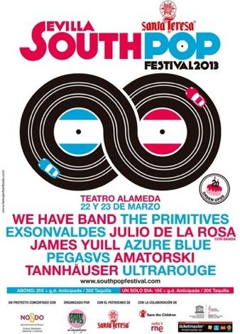 South Pop Sevilla 2013