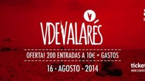 Con V de Valarés 2014 confirma a We Are Standard y Depedro