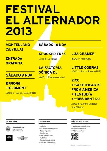 alternador 2013 cartel El Festival Alternador 2013 anuncia cartel definitivo