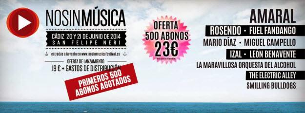 No Sin Música Festival 2014