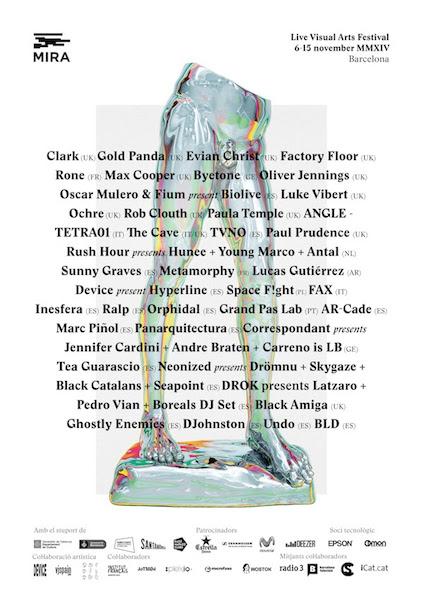 Festival MIRA 2014 - Cartel