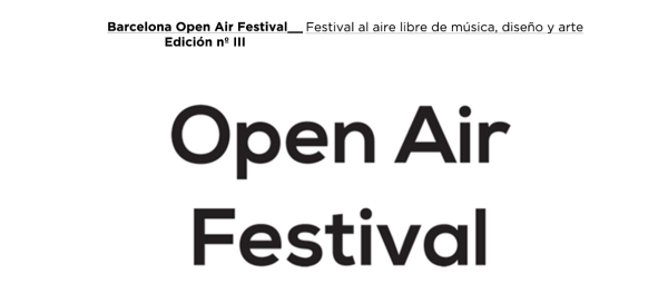 Open Air festival 2014