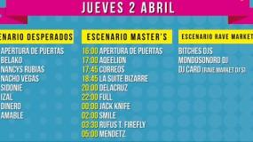 SanSan Festival 2015 anuncia horarios