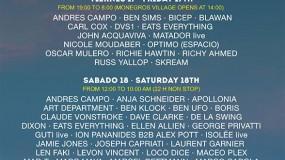 El Groove Parade 2015 (Monegros Desert Festival), desvela su cartel por días