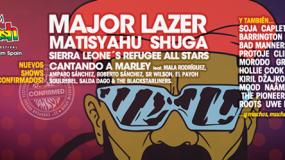 Major Lazer, al Rototom 2015