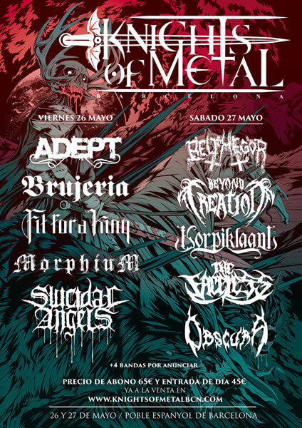 Knights Of Metal 2018 (Barcelona Metal Fest)