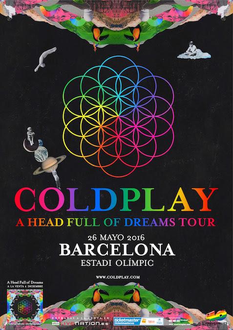 Concierto Coldplay Barcelona 2016 Comprar Entradas