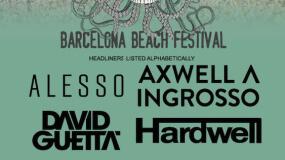 Barcelona Beach Festival 2016 anuncia cartel y pone sus entradas a la venta