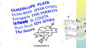 Cartel por días del Festival Cara-B 2016