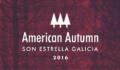 American Autumn 2016 – Ciclo de conciertos