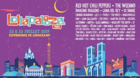 Lollapalooza llega a París en 2017 con Red Hot Chili Peppers, The Weeknd, Lana Del Rey…
