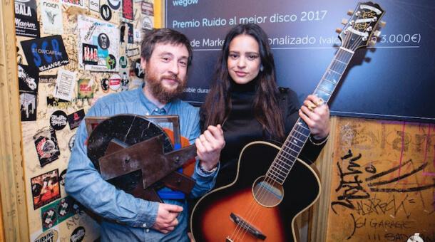 Rosalía gana el Premio Ruido al mejor disco de 2017 con 'Los Ángeles'