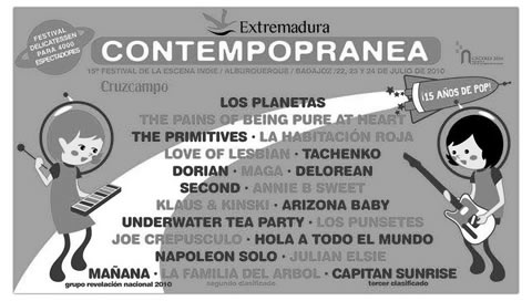 Cartel Contempopranea 2010