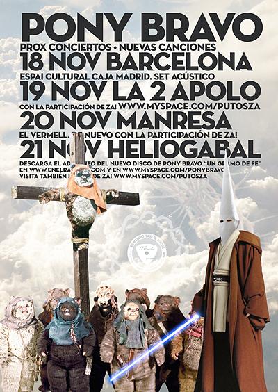Pony Bravo - Conciertos Barcelona