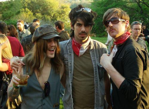 Artistas modernos durante el SXSW 2010