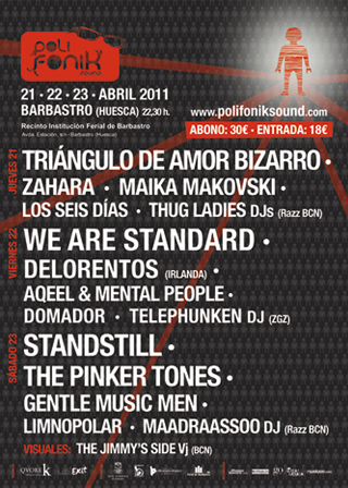 Cartel PolifoniK Sound 2011