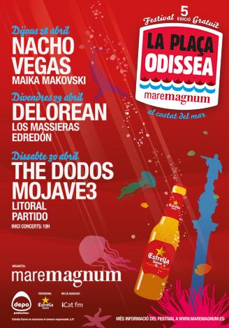 Cartel del Festival Odissea 2011