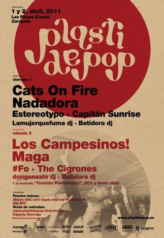 Cartel del Plastidepop 2011