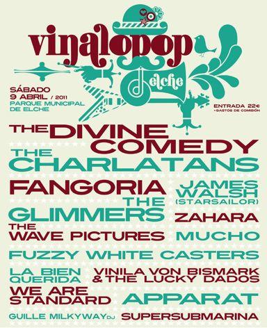 Cartel vinalopop 2011