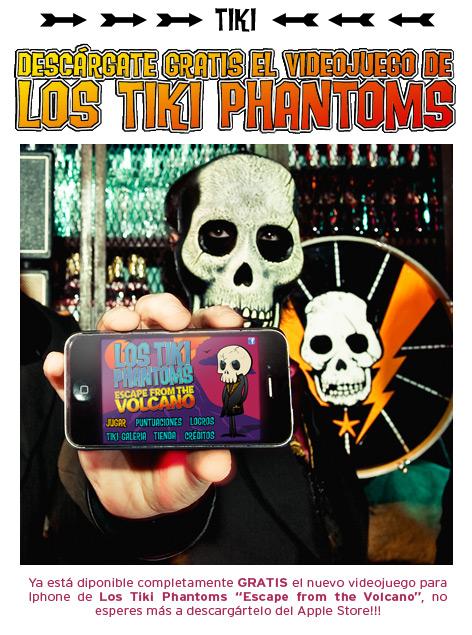juego iphone - Los Tiki Phantoms