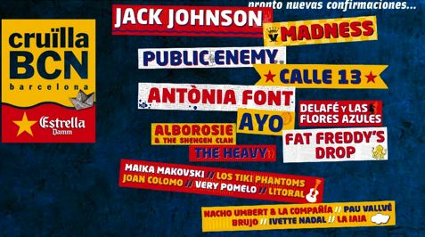 Cartel Temporal Crüilla Barcelona