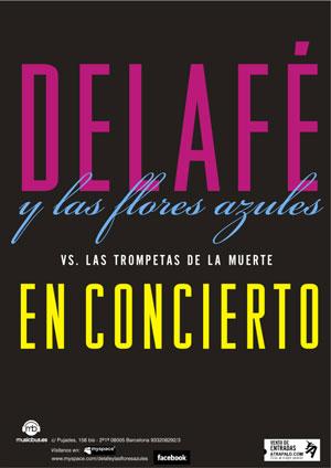 Delafé y las Flores Azules - Nuevos conciertos