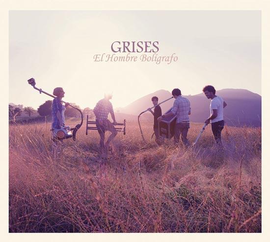 Grises - El hombre boligrafo - portada
