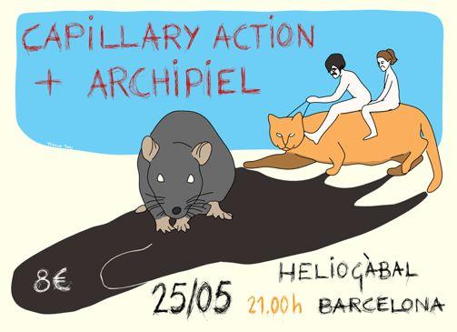 Archipiel - Concierto Barcelona - Heliogábal
