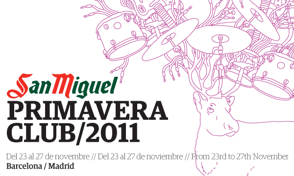 Cartel Primavera Club 2011
