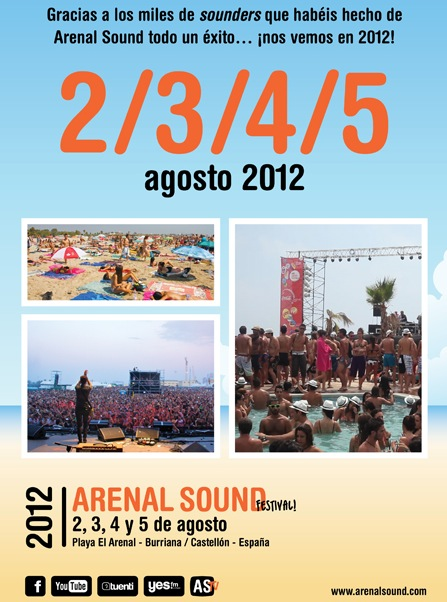 Arenal Sound 2012