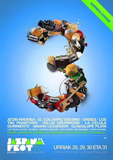 Cartel Jazpana Fest 2011