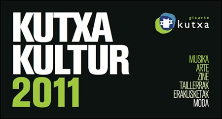 Cartel Festival Kutxa Cultura 2011
