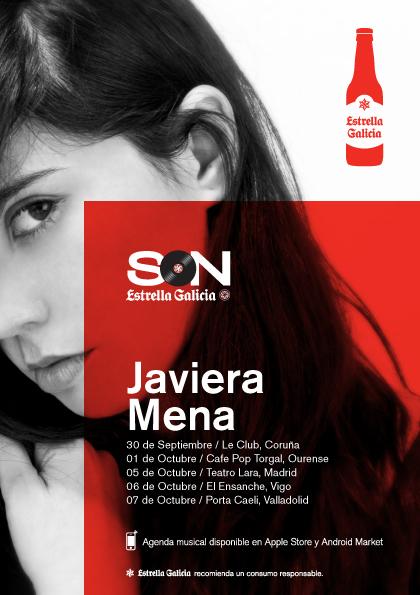 Javiera Mena - Conciertos SON Estrella Galicia