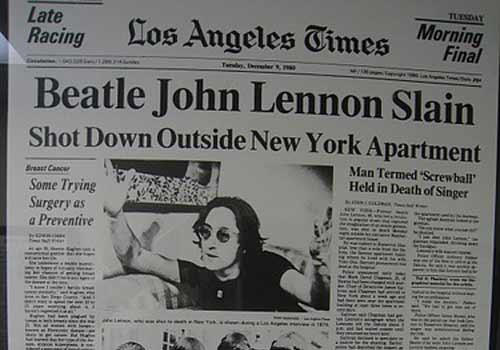 John Lennon - Asesinato