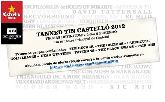 Cartel Tanned Tin 2012