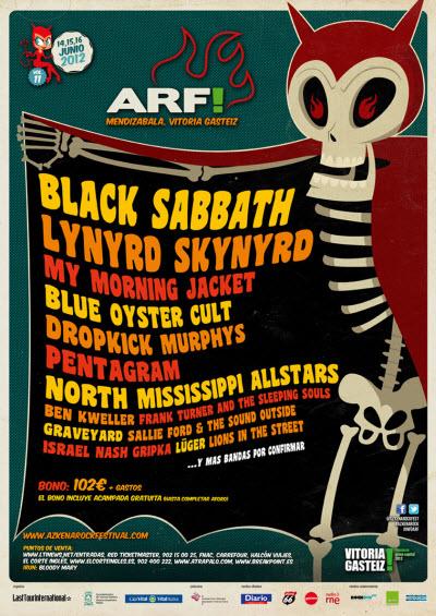 Cartel Azkena Rock 2012