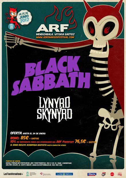 Azkena Rock Festival - Cartel