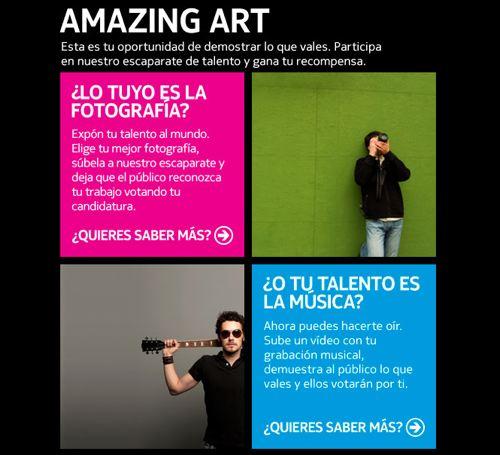 Nokia Amazing Art