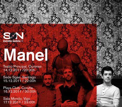Manel se va de gira por Galicia
