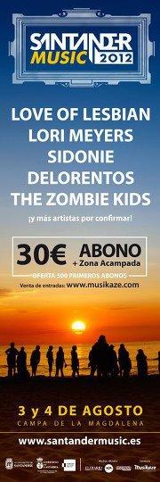 Santander Music 2012