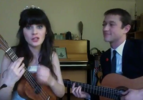 Zooey Deschanel y Joseph Gordon-Levit